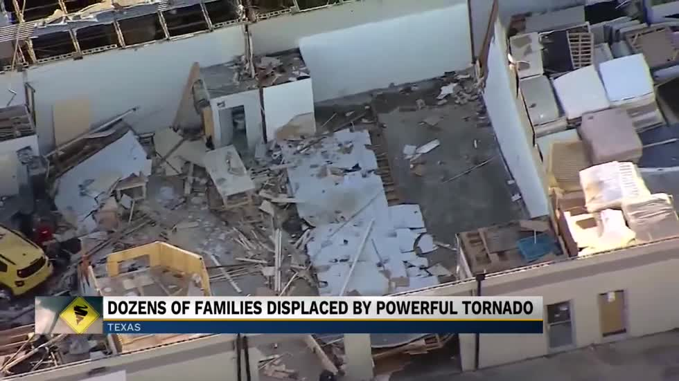 Thousands, including former South Bend resident, ride out November Texas tornado
