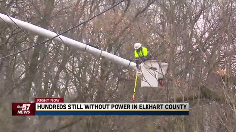 Thousands of customers without power across Michiana