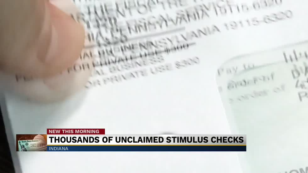 Over 150,000 Hoosiers have not claimed their stimulus checks