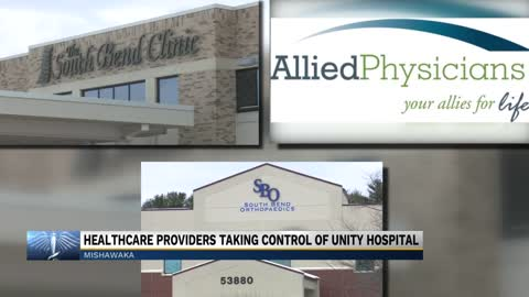 Three healthcare providers take control of Unity Hospital