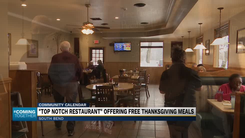 Top Notch restaurant thanks customers with free meal this Thanksgiving