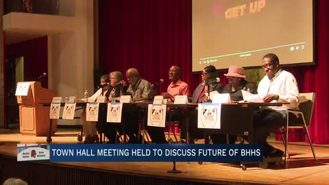 Town hall meeting held to discuss the future of Benton Harbor High School