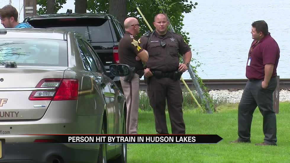 Train-pedestrian collision at Hudson Lake in LaPorte County