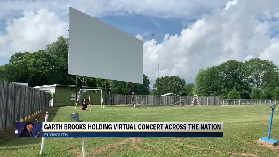 Tri-Way Drive-In Theater hosts Garth Brooks virtual concert