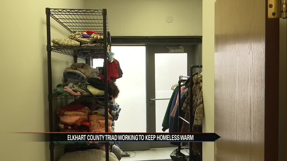 Triad collecting winter outerwear for the homeless