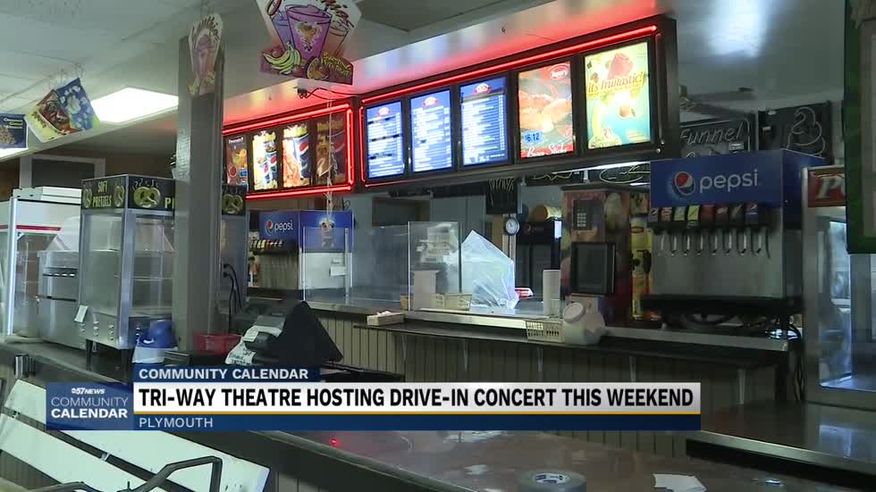 Tri-Way theatre hosts drive-in concert Saturday