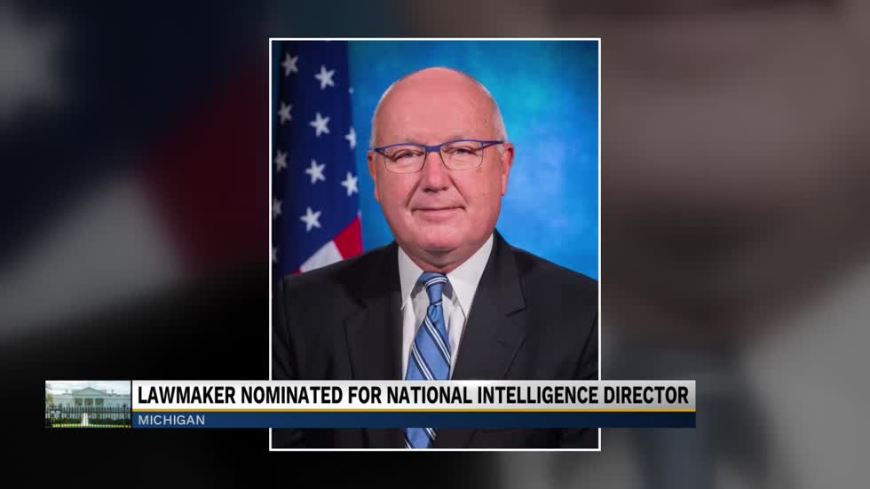 Trump considering former Michigan Congressman for National Intelligence Director
