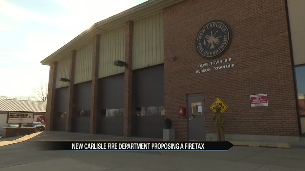 Tuesday vote could create a paid fire department in New Carlisle