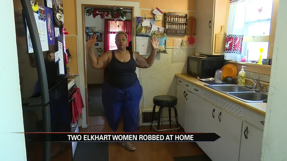 Two Elkhart women were robbed in their homes in two weeks