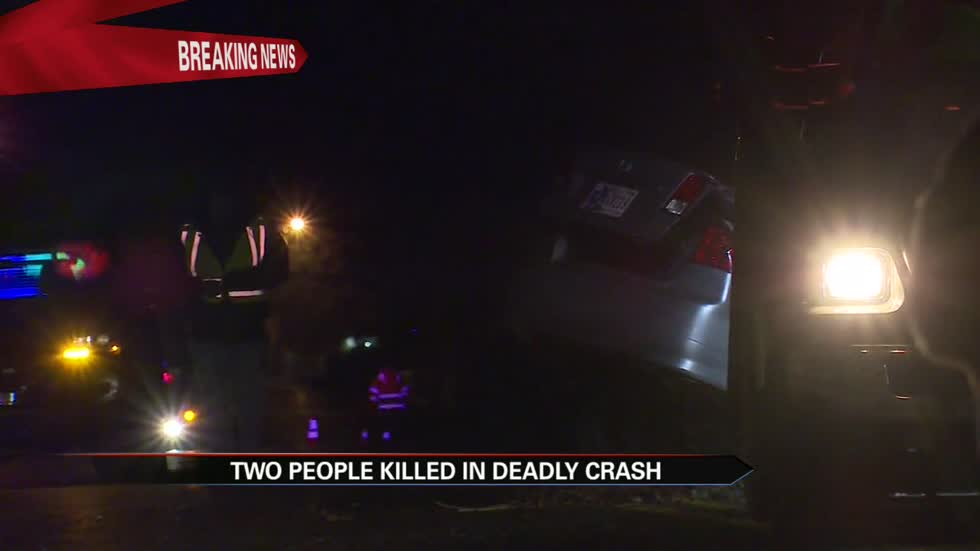 Two people dead in Osceola car crash