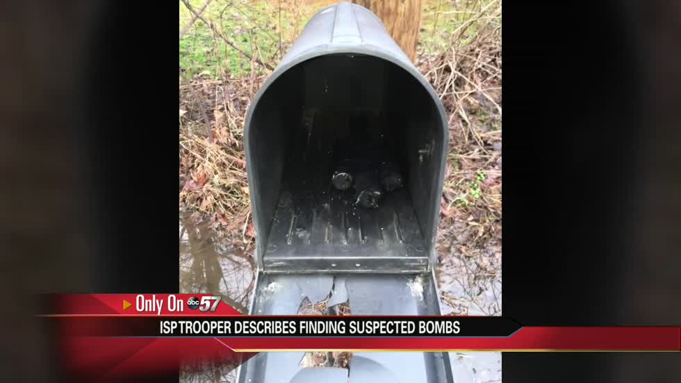 Two suspected IEDs found in mailboxes in Marshall County