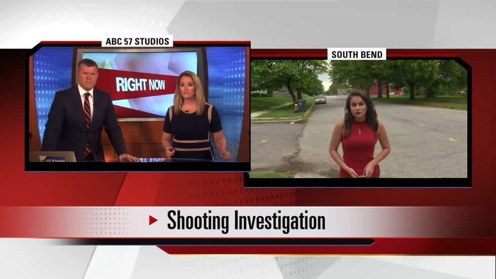 Two teenagers shot outside South Bend home