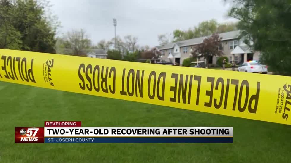 2-year-old recovering after shooting