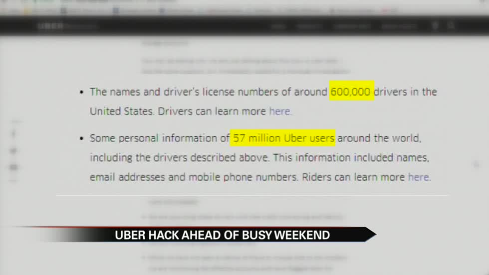 Michiana Uber driver trusts company after information breach