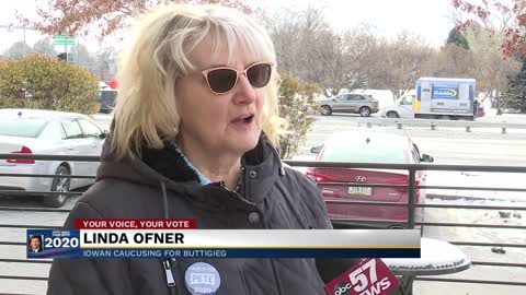 Undecided voters in Iowa now caucusing for Buttigieg