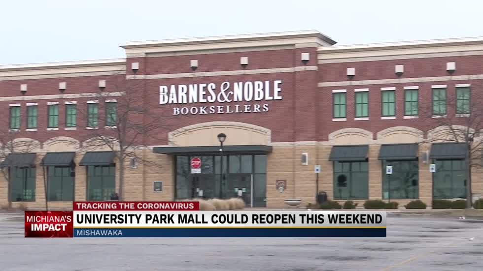 University Park Mall to re-open this weekend