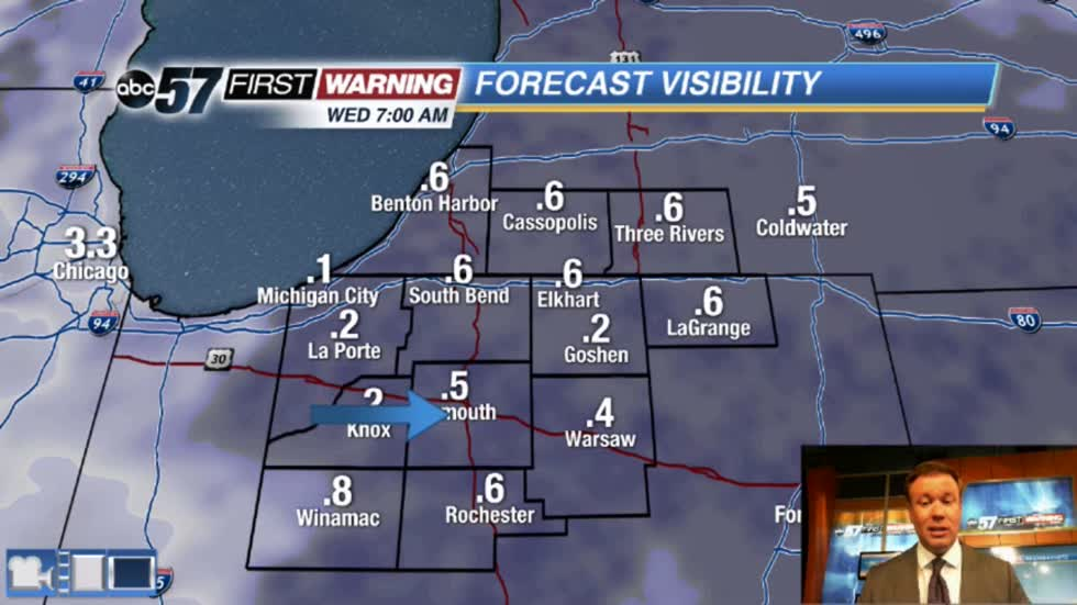 Foggy start to Wednesday, then warm and sunny