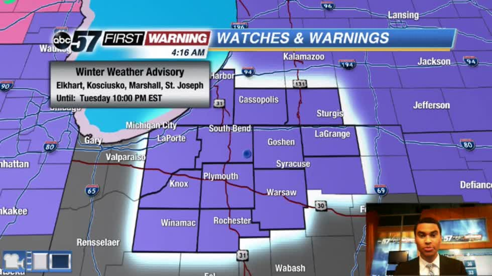 PM wintry mix could create brief slick roads