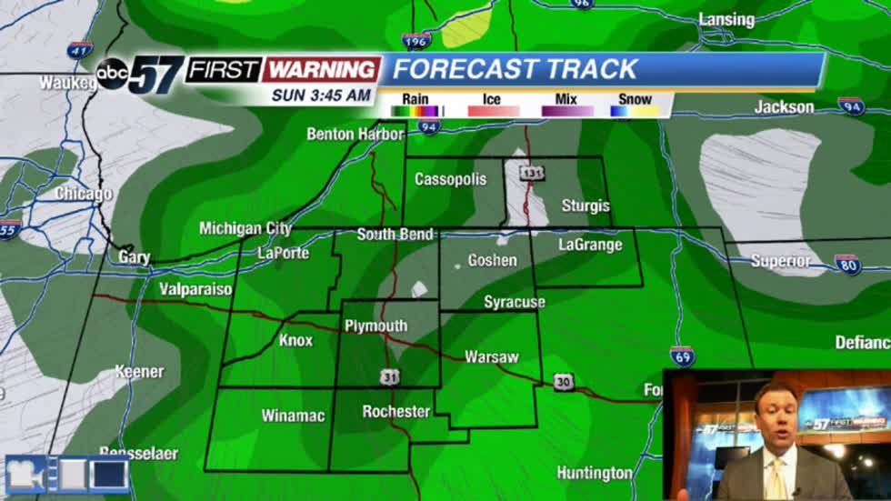 Unneeded rain returns Friday and Saturday