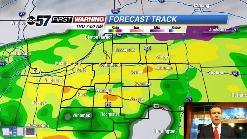 Rain returns Midweek, lion-like start to March