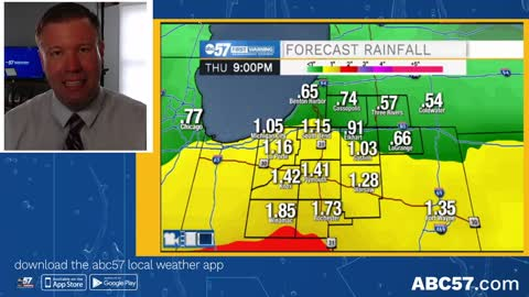 Soaking rain likely Thursday