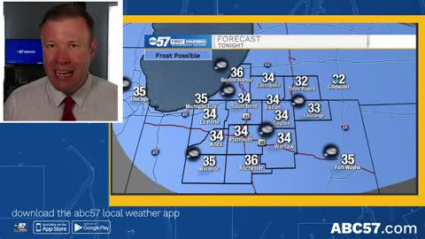 Frost and freeze concerns over the next week