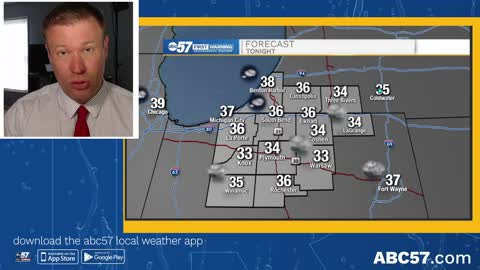 Frosty temperatures return