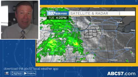 Rain is spotty ahead of big warm-up this weekend