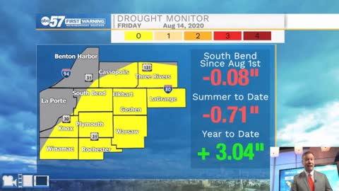 Rain unlikely, drought likely to expand, again