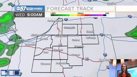 Staying gray Wednesday; mostly dry rest of week