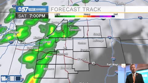 Saturday Storms unlikely to impact Kickoff