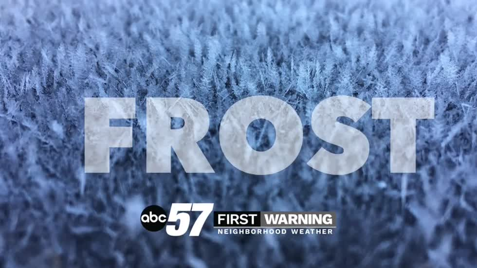 Frost possible Saturday morning, fair and mild weekend