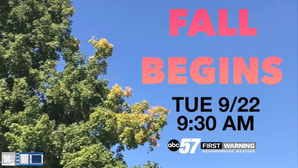 Fall begins but summer weather continues