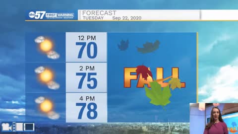 Final stretch of summer weather; fall temperatures next week