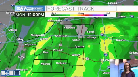 Rainy Monday; more rain chances this week