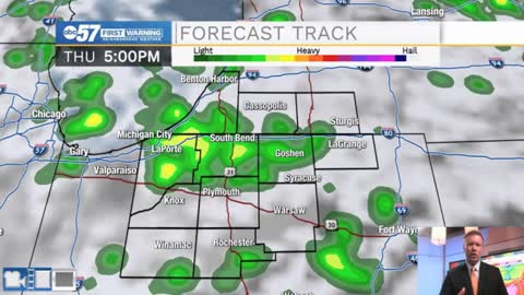 Wetter Thursday, cooler Friday