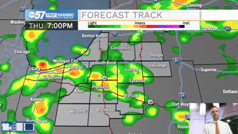 Cold temperatures and rain chances for Michiana