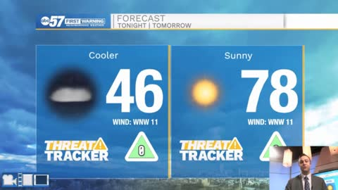 Warm and dry weather will stick around through the weekend