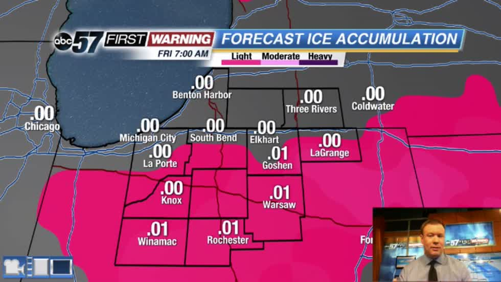 More wintry weather Thursday
