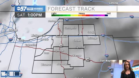Few flurries this weekend; most stay dry
