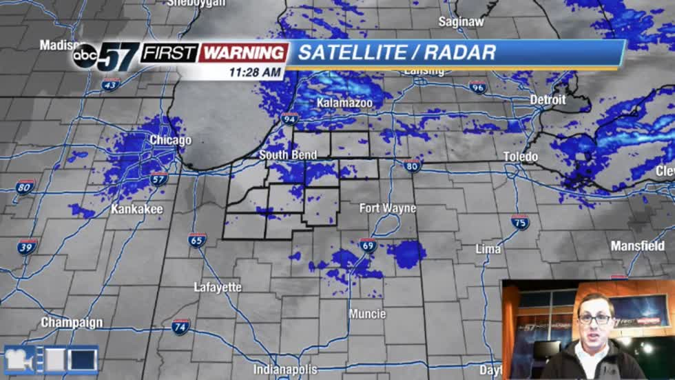 Lake effect snow could cause morning delays