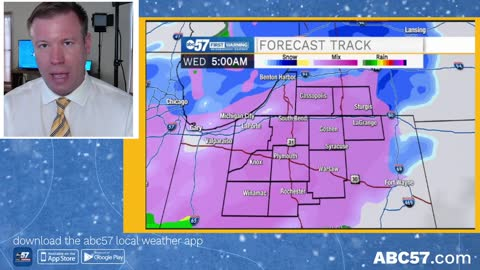 Two rounds of freezing rain possible this week