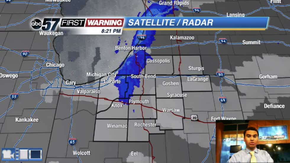 More lake effect tonight; some for Monday