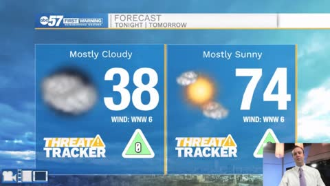 Warm temperatures and sunshine to start the week