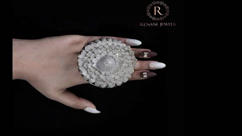 A ring with 12,638 diamonds sets a Guinness World Record