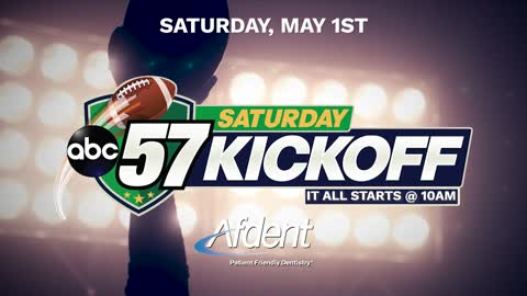 ABC57 Saturday Kickoff for the Blue Gold game airs Saturday