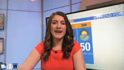 Brighter and warmer this weekend