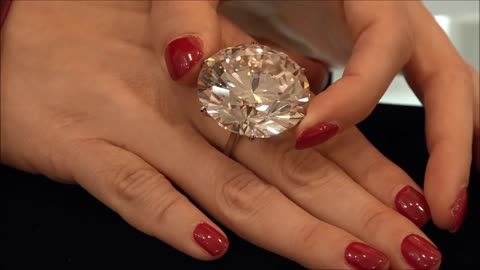 110-carat diamond going up for auction next month
