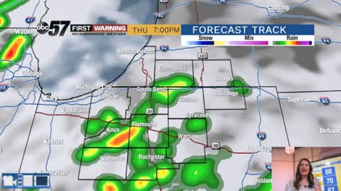 Hot and humid with isolated storm chances