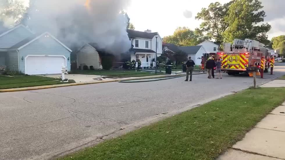 South Bend Fire Department dispatched to house fire on northwest...